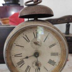 Despertadores antiguos: RELOJ DESPERTADOR ANTIGUO. Lote 206283580