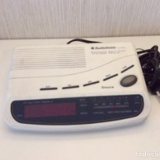 Despertadores antiguos: RADIO RELOJ DESPERTADOR DIGITAL AUDIOSONIC CL381. Lote 206451723