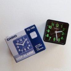 Despertadores antiguos: CASIO - DESPERTADOR MODELO TQ-140. Lote 206892482