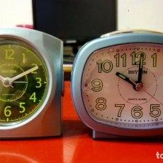 Despertadores antiguos: DESPERTADORES 2 X 1!!. Lote 207022180