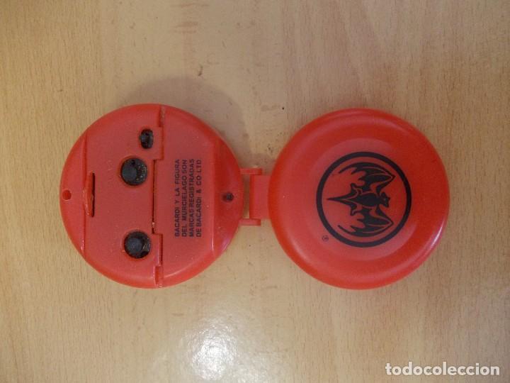 Despertadores antiguos: reloj despertador Bacardi - Foto 3 - 207125858