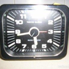 Despertadores antiguos: TOKYO CLOCK. Lote 207455141