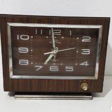 Despertadores antigos: RELOJ DESPERTADOR Y CAJA DE MUSICA - JAPON - TOKEI - CAR193. Lote 208427996