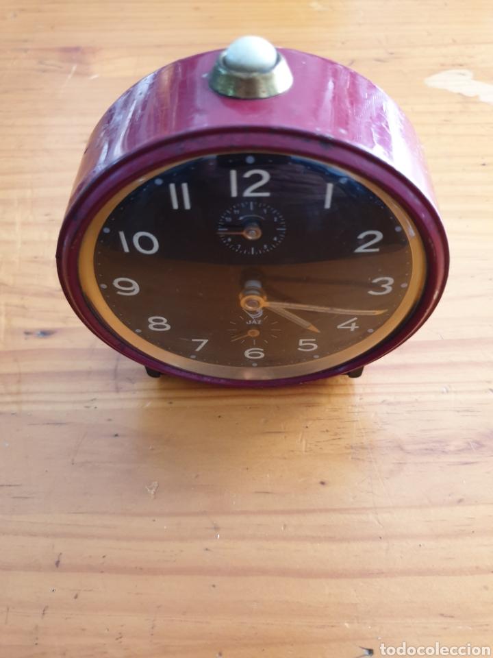 ANTIGUO DESPERTADOR JAZ (Relojes - Relojes Despertadores)