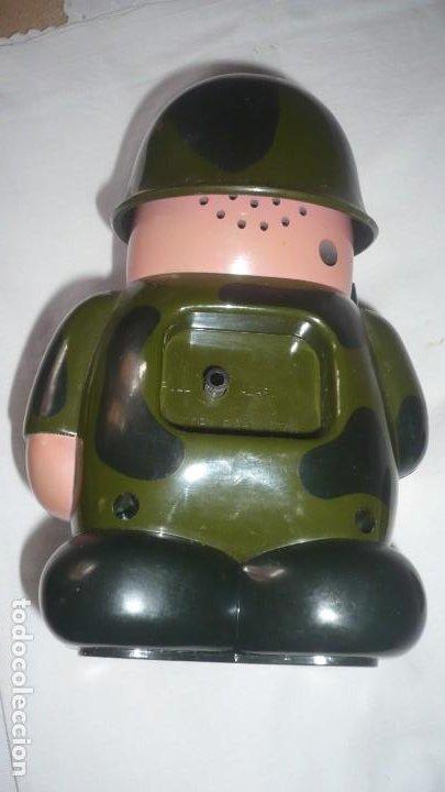 Despertadores antiguos: Reloj despertador forma soldado - Foto 3 - 209692561