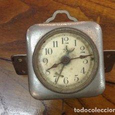 Despertadores antiguos: RELOJ-DESPERTADOR CARRUAJE ANTIGUO.RELOJERA ALEMANA HAMBURG AMERIKANISCHE UHRENFABRIK (HAU),. Lote 209898135