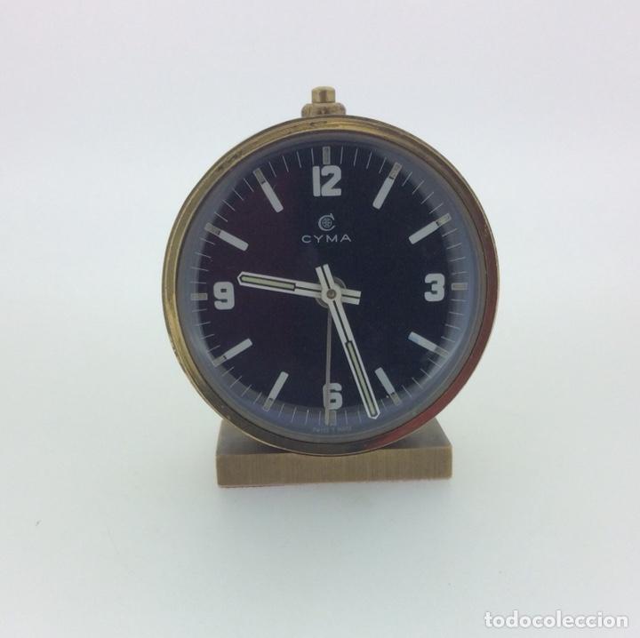 RELOJ DESPERTADOR DE MESILLA CYMA VINTAGE AÑOS 60 (Relojes - Relojes Despertadores)