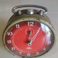 Despertadores antiguos: ANTIGUO DESPERTADOR A CUERDA - ALBA. Lote 210191060