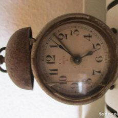 Despertadores antiguos: RELOJ DESPERTADOR MARCA META. SUIZO.. Lote 210335068