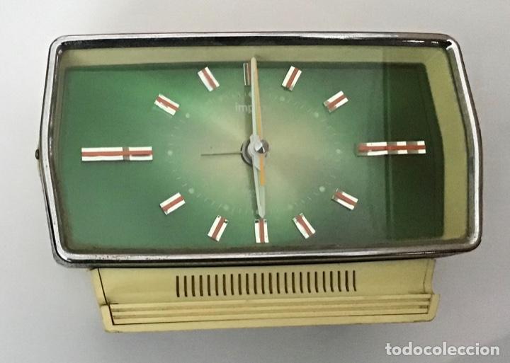 RELOJ TRANSISTOR DESPERTADOR VINTAGE IMPEX (Relojes - Relojes Despertadores)