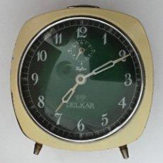 Despertadores antiguos: RELOJ DESPERTADOR DELKAR. Lote 210406316