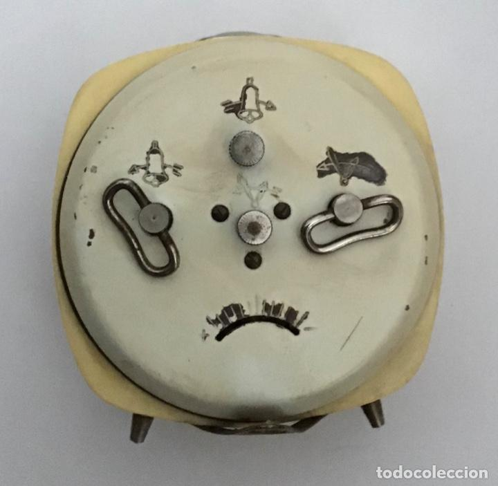 Despertadores antiguos: Reloj despertador Delkar - Foto 2 - 210406316