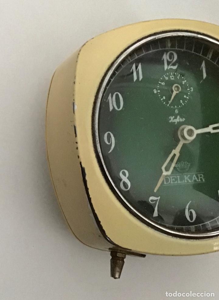 Despertadores antiguos: Reloj despertador Delkar - Foto 3 - 210406316