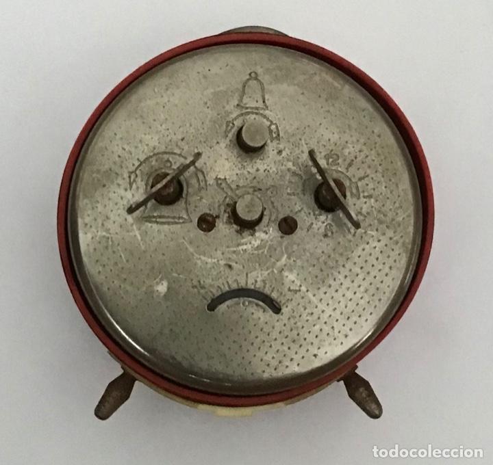 Despertadores antiguos: Reloj despertador Ruso URSS - Foto 2 - 210406937