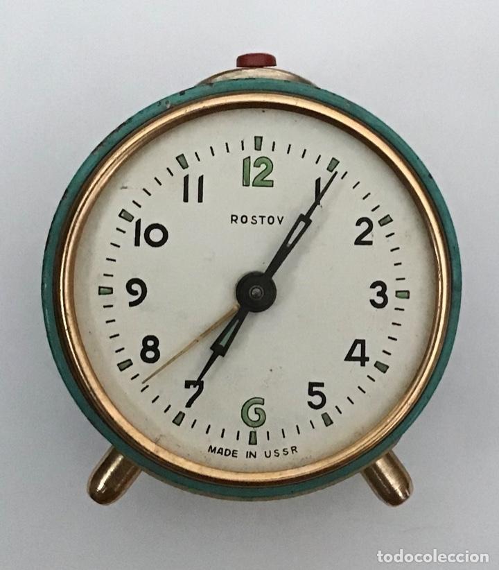 Despertadores antiguos: Lote 2 despertadores Sovieticos URSS - Foto 2 - 210407645
