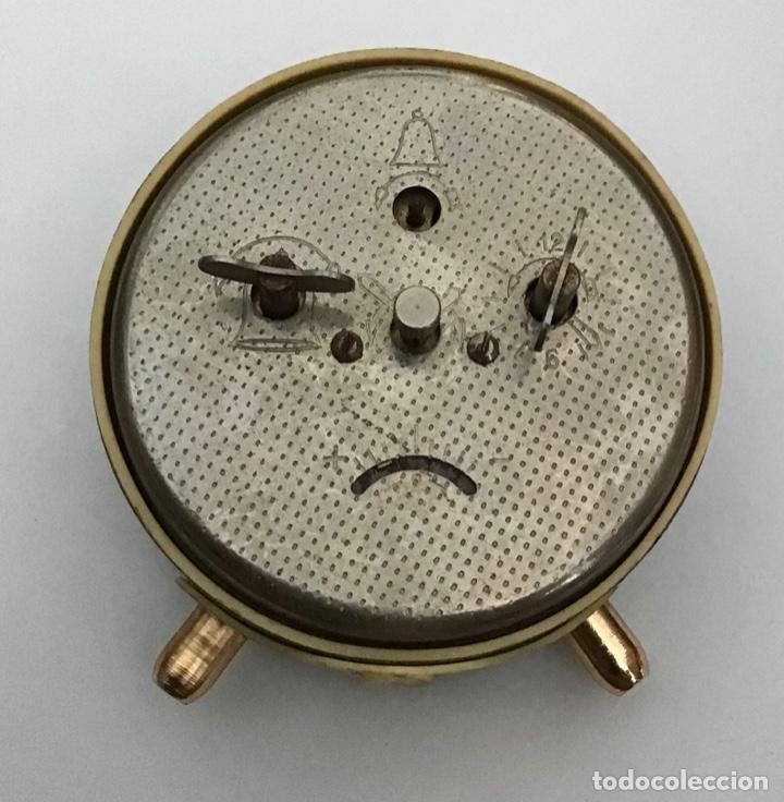 Despertadores antiguos: Lote 2 despertadores Sovieticos URSS - Foto 5 - 210407645