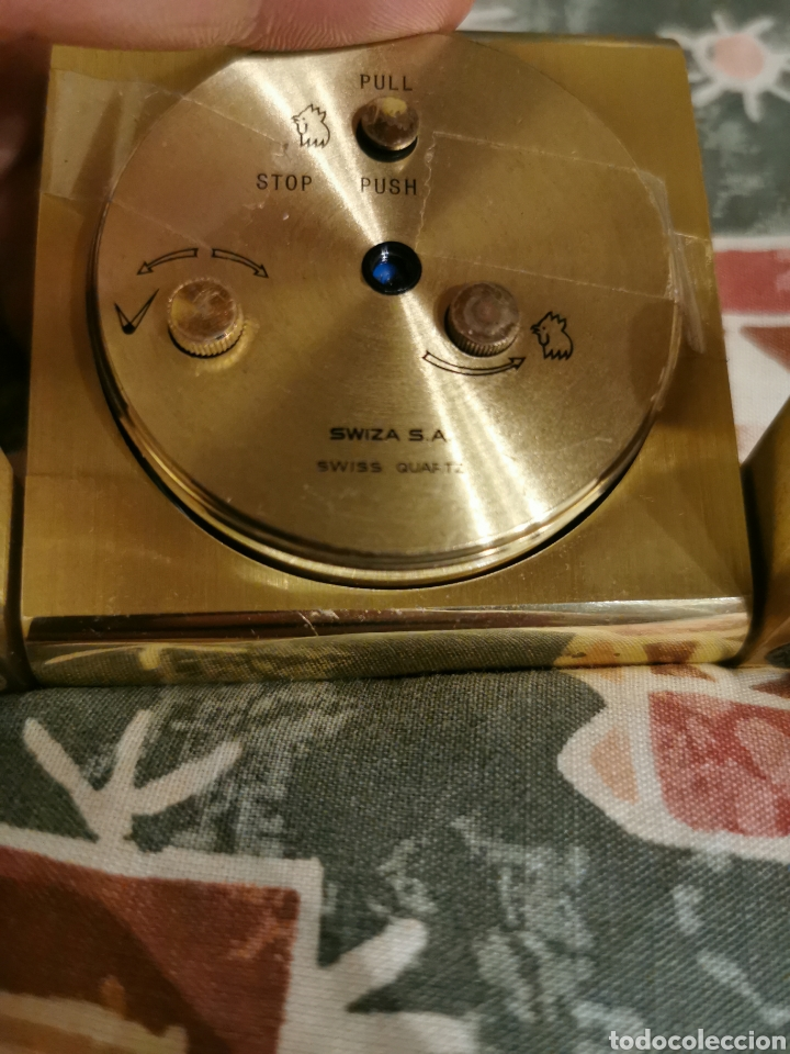 Despertadores antiguos: Reloj despertador swiza 1904 - Foto 3 - 213009578