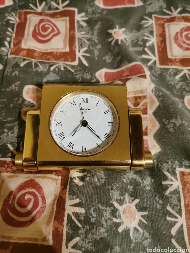 Despertadores antiguos: Reloj despertador swiza 1904 - Foto 4 - 213009578