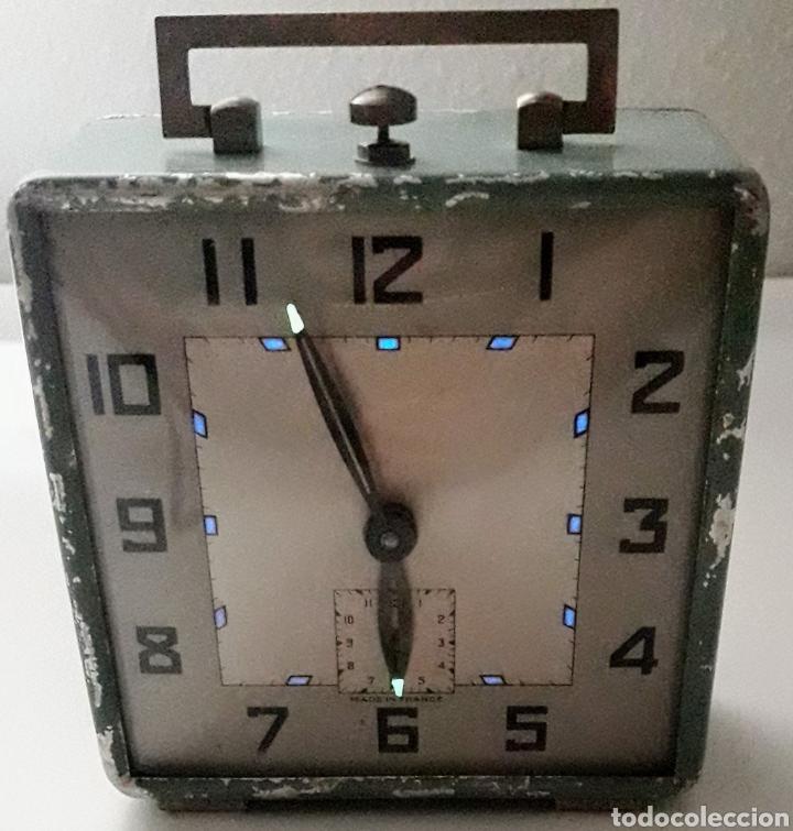 ANTIGUO RELOJ DESPERTADOR DE CUERDA REVISADO (Relojes - Relojes Despertadores)