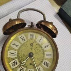 Despertadores antiguos: RELOJ DESPERTADOR JAC REPETICIÓN. FUNCIONA. Lote 213553058