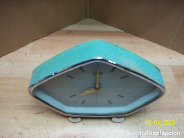 Despertadores antiguos: RELOJ POLARIS-AÑOS 1980-FUNCIONA - Foto 4 - 213579912