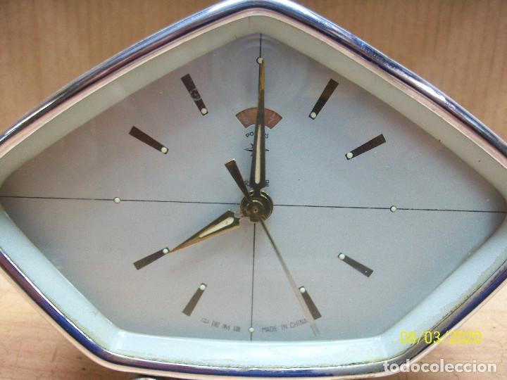 Despertadores antiguos: RELOJ POLARIS-AÑOS 1980-FUNCIONA - Foto 5 - 213579912