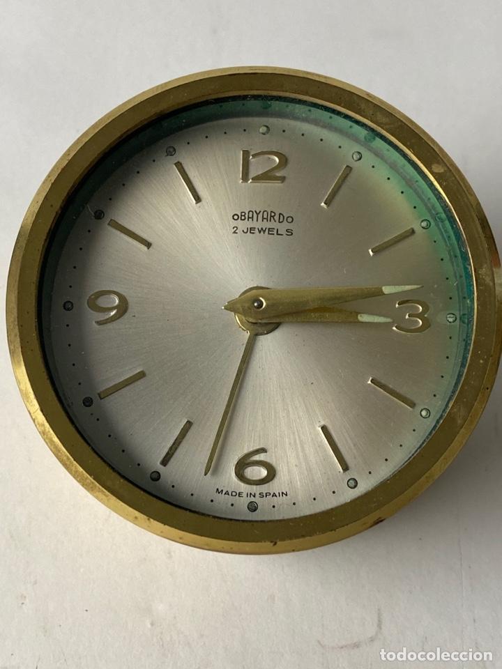 RELOJ DESPERTADOR OBAYANDO 2 JEWELS. AÑOS 60. (Relojes - Relojes Despertadores)
