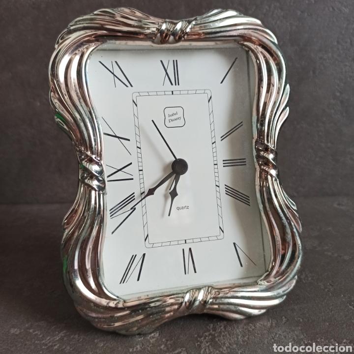 RELOJ DE PLATA PARA REPARAR * ISABEL DISSENY * SELLOS (Relojes - Relojes Despertadores)