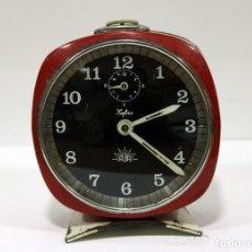 Despertadores antiguos: RELOJ DESPERTADOR ZAFIRO ALBA. Lote 216899577