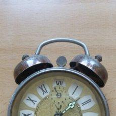 Despertadores antiguos: RELOJ DESPERTADOR MARCA JAZ. Lote 217092882