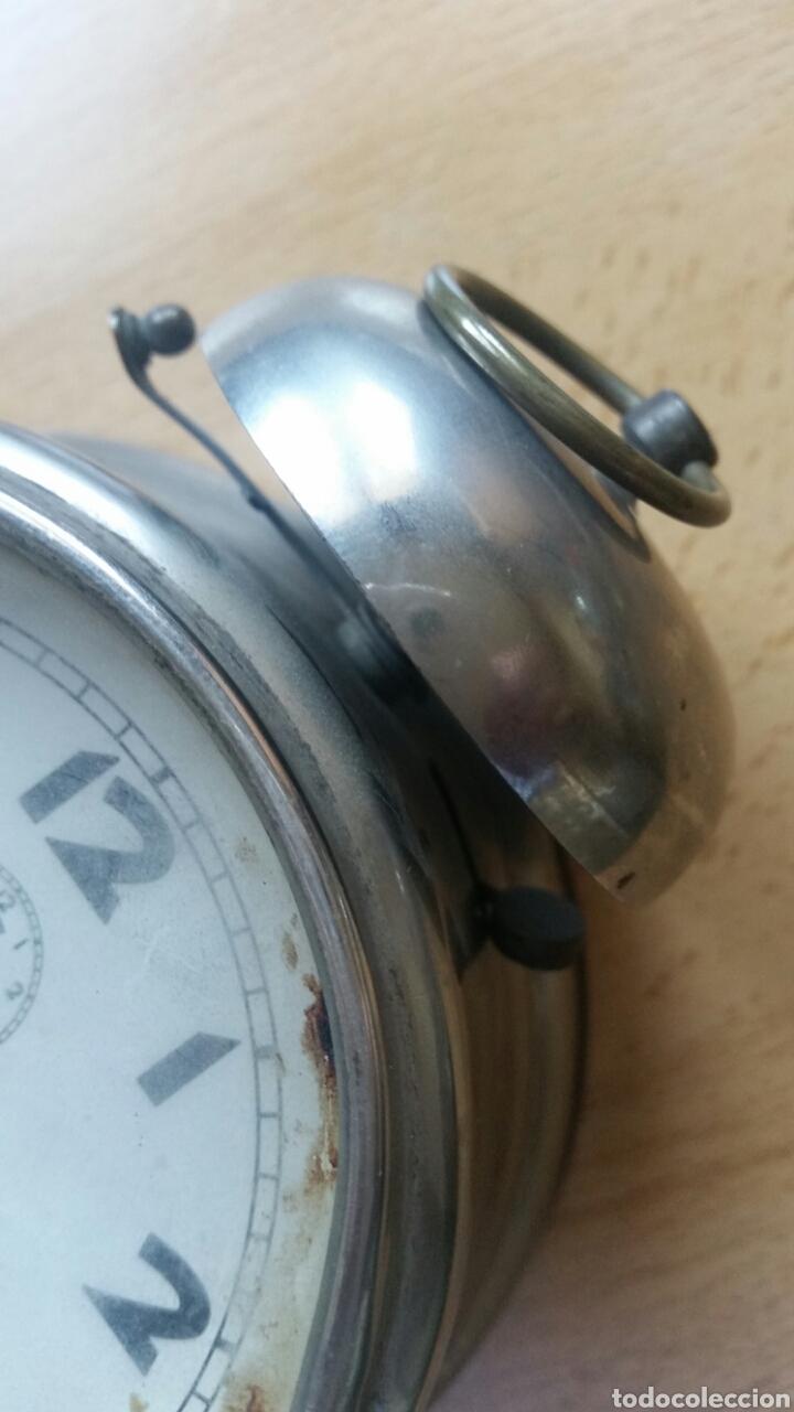 Despertadores antiguos: Reloj despertador sin marca años 40 - Foto 4 - 217106348