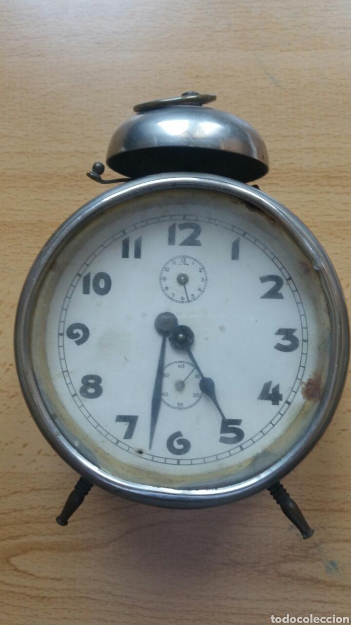 RELOJ DESPERTADOR SIN MARCA AÑOS 40 (Relojes - Relojes Despertadores)