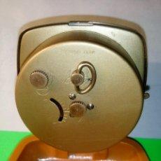 Despertadores antiguos: DESPERTADOR BLESSING. FUNCIONANDO TODO. PERFECTO Y MUY EXACTO. DESCRIPCION Y FOTOS.. Lote 217195141