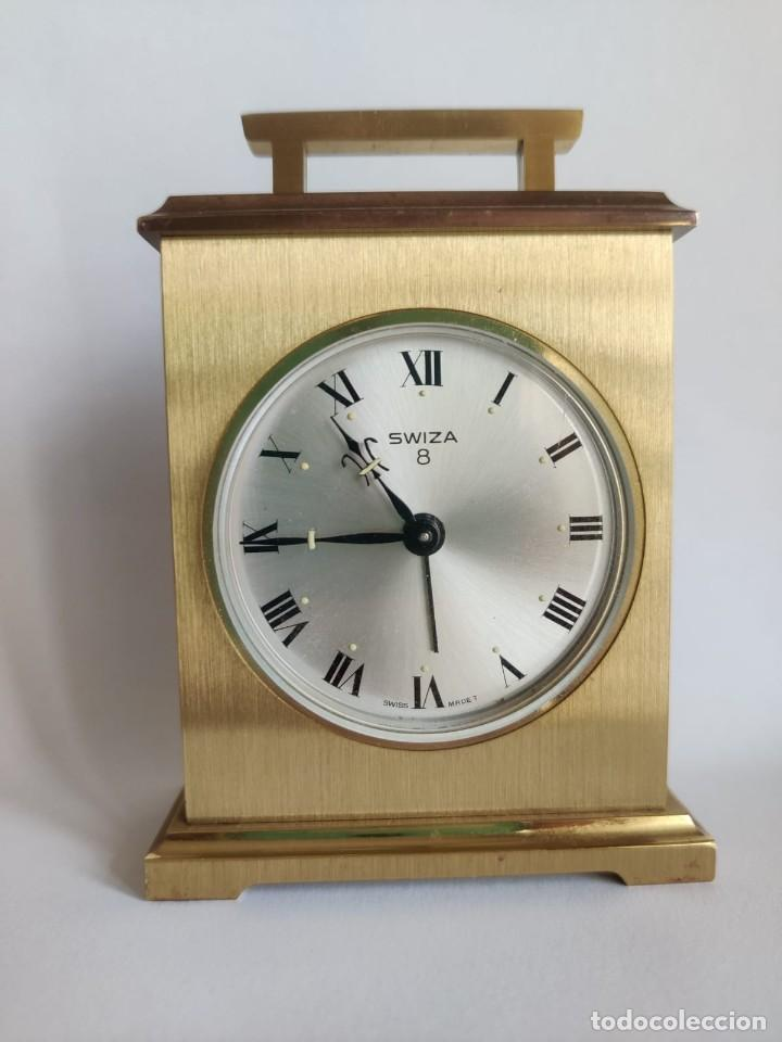 Despertadores antiguos: Reloj despertador SWIZA 8 - Foto 2 - 218382768