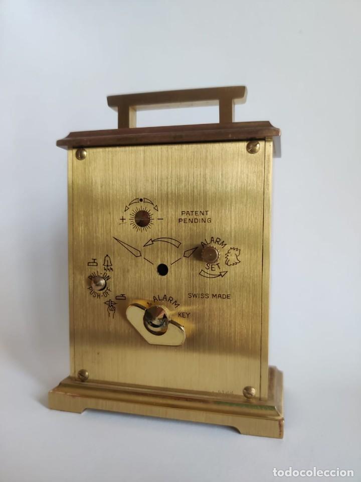 Despertadores antiguos: Reloj despertador SWIZA 8 - Foto 3 - 218382768