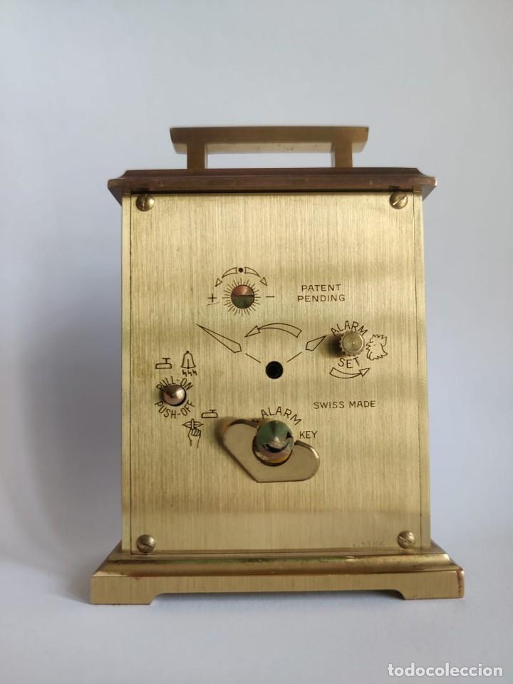 Despertadores antiguos: Reloj despertador SWIZA 8 - Foto 5 - 218382768