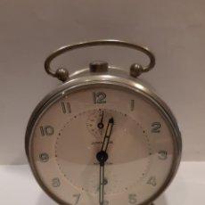 Despertadores antiguos: DESPERTADOR JUNGHANS FUNCIONADO (G). Lote 218584467