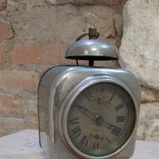 Despertadores antiguos: DESPERTADOR PIGNONS ACIER TAILLER PARA DESPIECE O RESTAURAR. Lote 218761785
