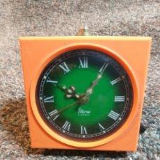 Despertadores antiguos: ANTIGUO RELOJ DESPERTADOR MICRA. Lote 219026732