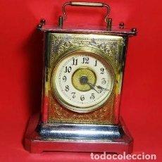 Despertadores antiguos: RELOJ DESPERTADOR JUNGHANS, BUEN ESTADO.FUNCIONA. Lote 219236118