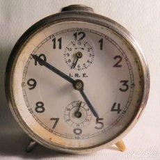 Despertadores antiguos: DESPERTADOR DE CUERDA INDUSTRIA RELOJERA ESPAÑOLA DECADA 1950. Lote 219673431