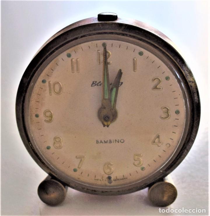 Despertadores antiguos: LOTE 6 RELOJ DESPERTADOR MARCAS BLESSIND, FAMOUS, KAISER Y DAEL FABRICADOS EN ALEMANIA - Foto 2 - 220639536