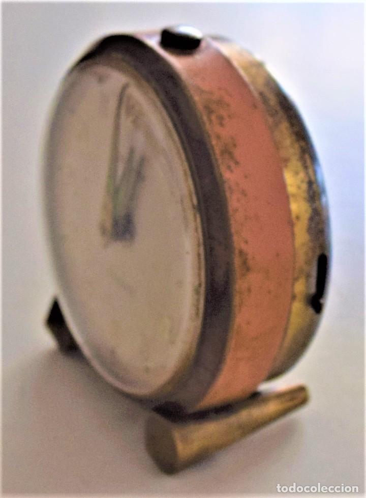 Despertadores antiguos: LOTE 6 RELOJ DESPERTADOR MARCAS BLESSIND, FAMOUS, KAISER Y DAEL FABRICADOS EN ALEMANIA - Foto 3 - 220639536