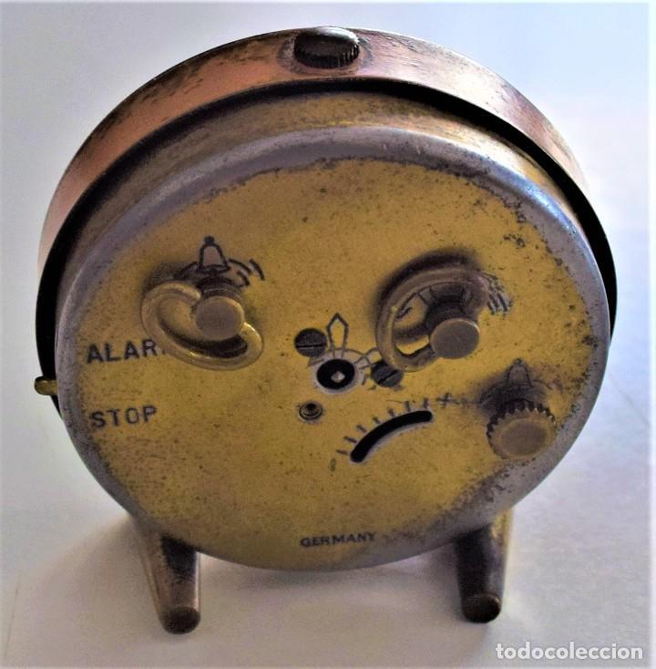 Despertadores antiguos: LOTE 6 RELOJ DESPERTADOR MARCAS BLESSIND, FAMOUS, KAISER Y DAEL FABRICADOS EN ALEMANIA - Foto 5 - 220639536