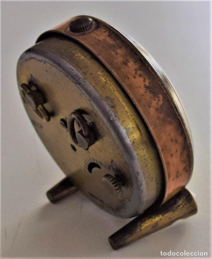 Despertadores antiguos: LOTE 6 RELOJ DESPERTADOR MARCAS BLESSIND, FAMOUS, KAISER Y DAEL FABRICADOS EN ALEMANIA - Foto 6 - 220639536