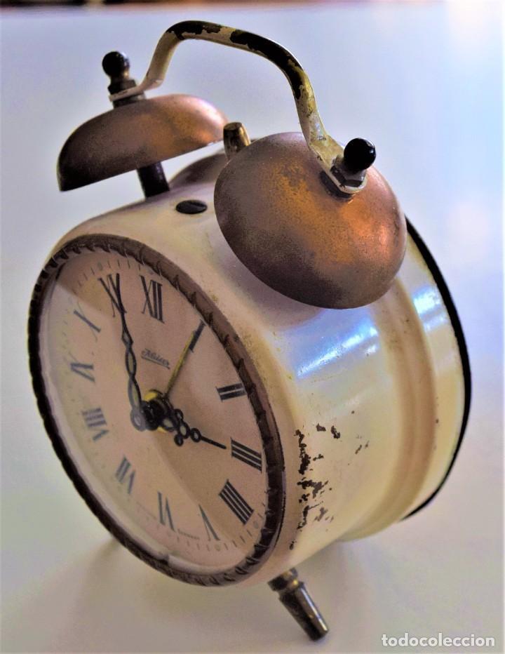 Despertadores antiguos: LOTE 6 RELOJ DESPERTADOR MARCAS BLESSIND, FAMOUS, KAISER Y DAEL FABRICADOS EN ALEMANIA - Foto 13 - 220639536