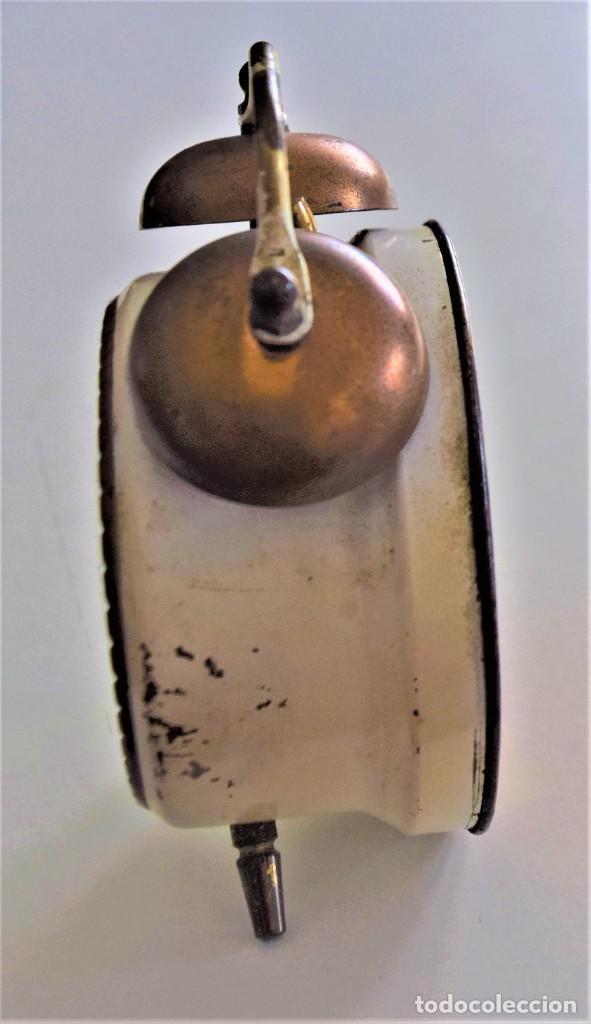 Despertadores antiguos: LOTE 6 RELOJ DESPERTADOR MARCAS BLESSIND, FAMOUS, KAISER Y DAEL FABRICADOS EN ALEMANIA - Foto 14 - 220639536