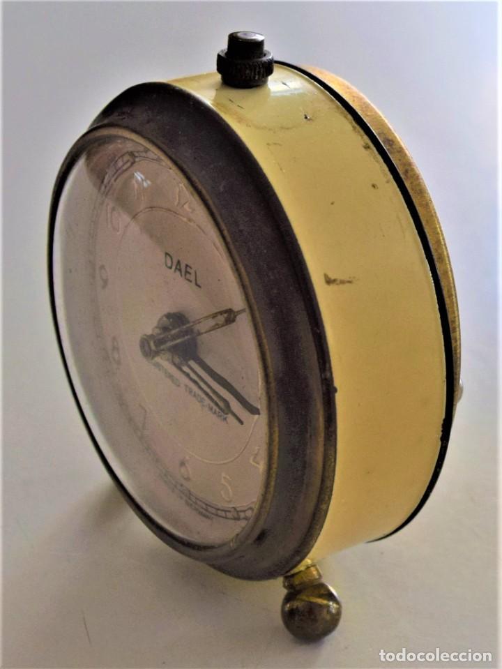 Despertadores antiguos: LOTE 6 RELOJ DESPERTADOR MARCAS BLESSIND, FAMOUS, KAISER Y DAEL FABRICADOS EN ALEMANIA - Foto 23 - 220639536