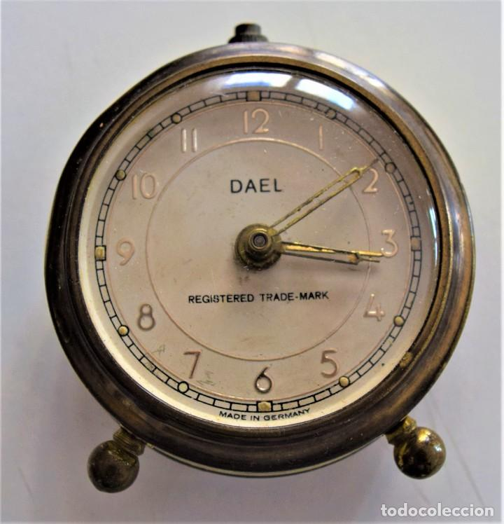 Despertadores antiguos: LOTE 6 RELOJ DESPERTADOR MARCAS BLESSIND, FAMOUS, KAISER Y DAEL FABRICADOS EN ALEMANIA - Foto 31 - 220639536