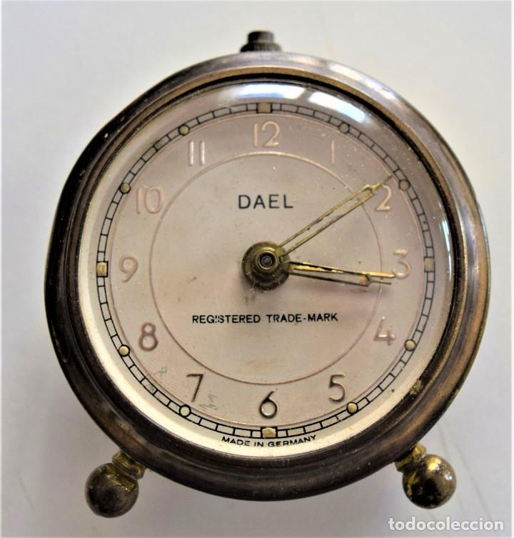 Despertadores antiguos: LOTE 6 RELOJ DESPERTADOR MARCAS BLESSIND, FAMOUS, KAISER Y DAEL FABRICADOS EN ALEMANIA - Foto 32 - 220639536